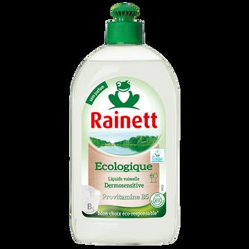 Rainett Liquide Vaisselle Dermosensitive Ecolabel Rainett, 500ml
