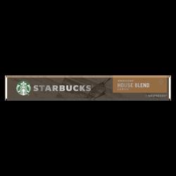 STARBUCKS by nespresso house blend, x10 capsules, 57g