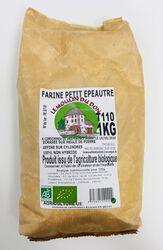 Farine Petit épeautre T110 BIO, LE MOULIN DU DON, paquet 1kg