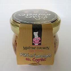 Paté de campagne au cognac MAITRE COCHON