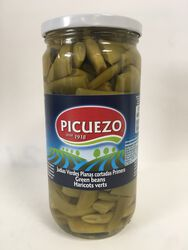 Picuezo - Haricots Larges Verts - 660G
