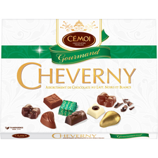 Cémoi Assortiment De Chocolats Fins Cheverny Gourmand Cemoi, Boîte De 500g