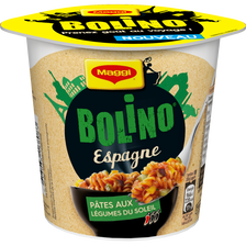Bolino Espagne pâtes aux légumes Méditerranéen MAGGI, 65g