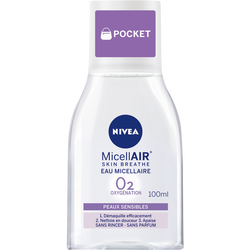 Eau micellaire peaux sensibles NIVEA visage, 100ml