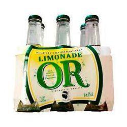 Limonade Corse OR , 6 bouteilles en verre de 25cl