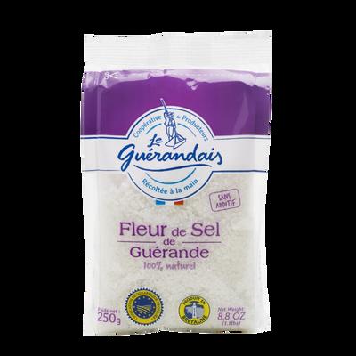 Fleur de sel LE GUERANDAIS, sachet de 250g