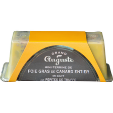 Canard Foie Gras De  Entier Truffé Grand Auguste, 180g