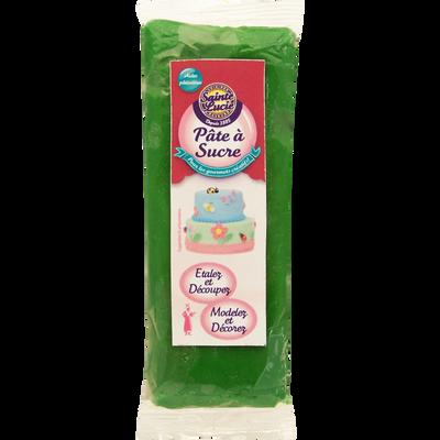 Pâte a sucre verte SAINTE LUCIE, 100g