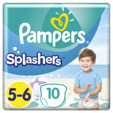 Couches splashers T5 PAMPERS, x10