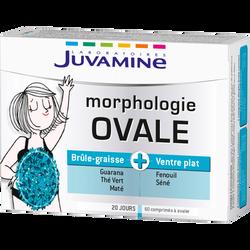 Comprimé minceur morphologie ovale JUVAMINE, x60