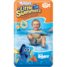 Culottes de bain Little Swimmers HUGGIES, taille 5/6, x11