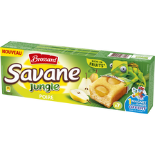 Savane jungle poire BROSSARD, paquet de 175g