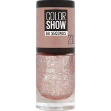 Vernis à ongles colorshow 232 crystallise rose chic MAYBELLINE, nu