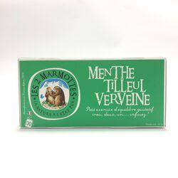 INFUSION MENTHE-TILLEUL-VERVEINE - LES 2 MARMOTTES