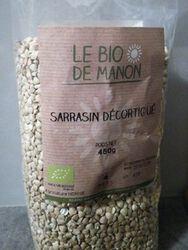 SARRASIN DECORTIQUE BIO 450G - BIO DE MANON