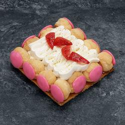 Saint honoré fraises, 2 pièces, 360g