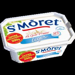 Spécialité fromagère au lait pasteurisé nature ST MORET, 8%mg, 300g