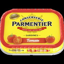 Sardines à la tomate PARMENTIER, 135g