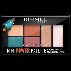 Ombre à paupières palette mini power 004 pioneer  RIMMEL NU, 7g