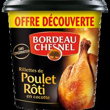Bordeau Chesnel Rillettes Poulet Rôti En Cocotte  400g Offre Découverte