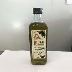 Huile d'olive vierge extra douce robert bouteille 75cl