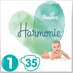 Couches Pampers Harmonie 3-4kg Geant Taille 1 X35