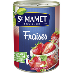 Fraises au sirop ST MAMET, 145g