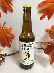 Kiss'Wing - Bière Blonde Artisanale - Bio 33cl