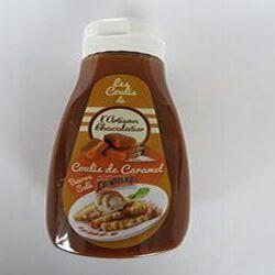 Coulis de caramel, Cointreau beurre salé, 330gr, flacon, L'artisan chocolatier