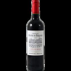 Côtes de Bourg AOP rouge château Mayne De Bernard, 75cl