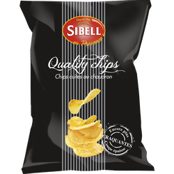 Chips quality SIBELL, 120g