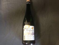 Poiré de Normandie 1/2 sec, les Martellières, 4°, bouteille verre de 75cl