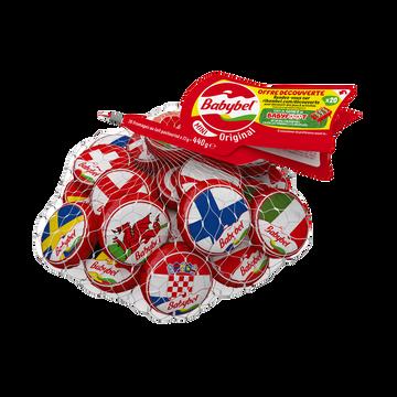 Babybel Fromage Lait Pasteurisé Mini Babybel 23%mg Filet De 20, 440g Offre Découverte