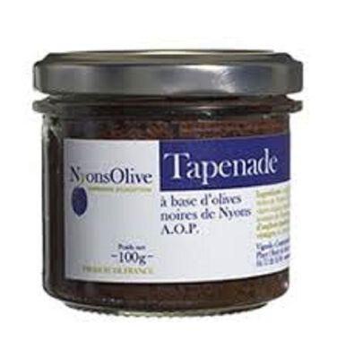 TAPENADE NOIRE DE NYONS 90G
