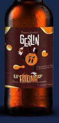 *Bière brune arona.GESLIN 6,1° 33CL