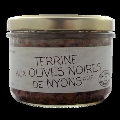 Terrine aux olives noires AOP de Nyons CUISINE ANNETTE, 200g