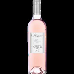 Côteaux de Pierrevert AOP rosé Providence , bouteille de 75cl