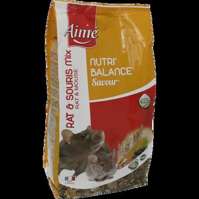 Nutri'balance savour mix hamster, AIME, 900g