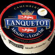 Lanquetot Camembert Au Lait Thermisé 22% De Matière Grasse Lanquetot, 250g