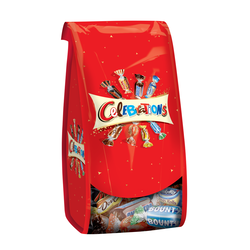 Chocolats assortis CELEBRATIONS, sachet de 196g