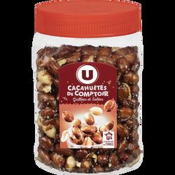 Cacahuètes de comptoir U, 400g