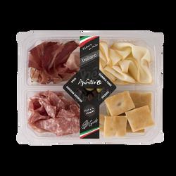 Apéritiv'O italiano (speck, saucis.scam.foccac.oliv.), 130g