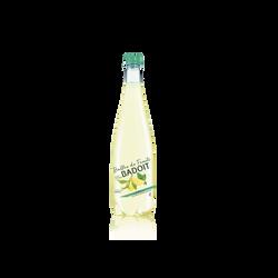Eau minérale naturelle gazeuse citron et menthe BADOIT, 1l
