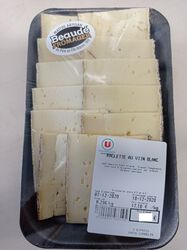 Raclette au vin blanc Fromagerie beaude