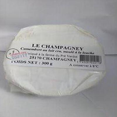 Camembert au lait cru, moulé à la louche LE CHAMPAGNEY 300g