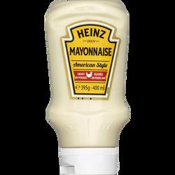 Mayonnaise, HEINZ, flacon souple top down de 395g