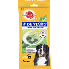 Dentastix fresh grand chien PEDIGREE, sticks x7 soit 270g