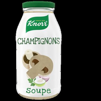 Soupe de champignons et pointe de persillade KNORR 45cl