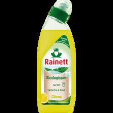 Gel wc écologique citron RAINETT, flacon de 750 ml