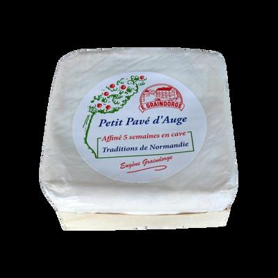 Petit pavé d'Auge au lait thermisé EUGENE GRAINDORGE, 24%MG, 320g